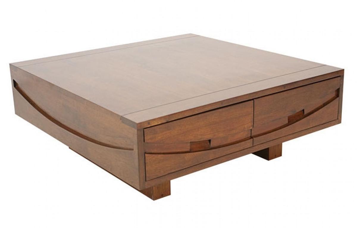 wakae table basse carree 90x90 cm
