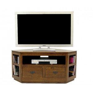 meuble tv d angle encombrement reduit