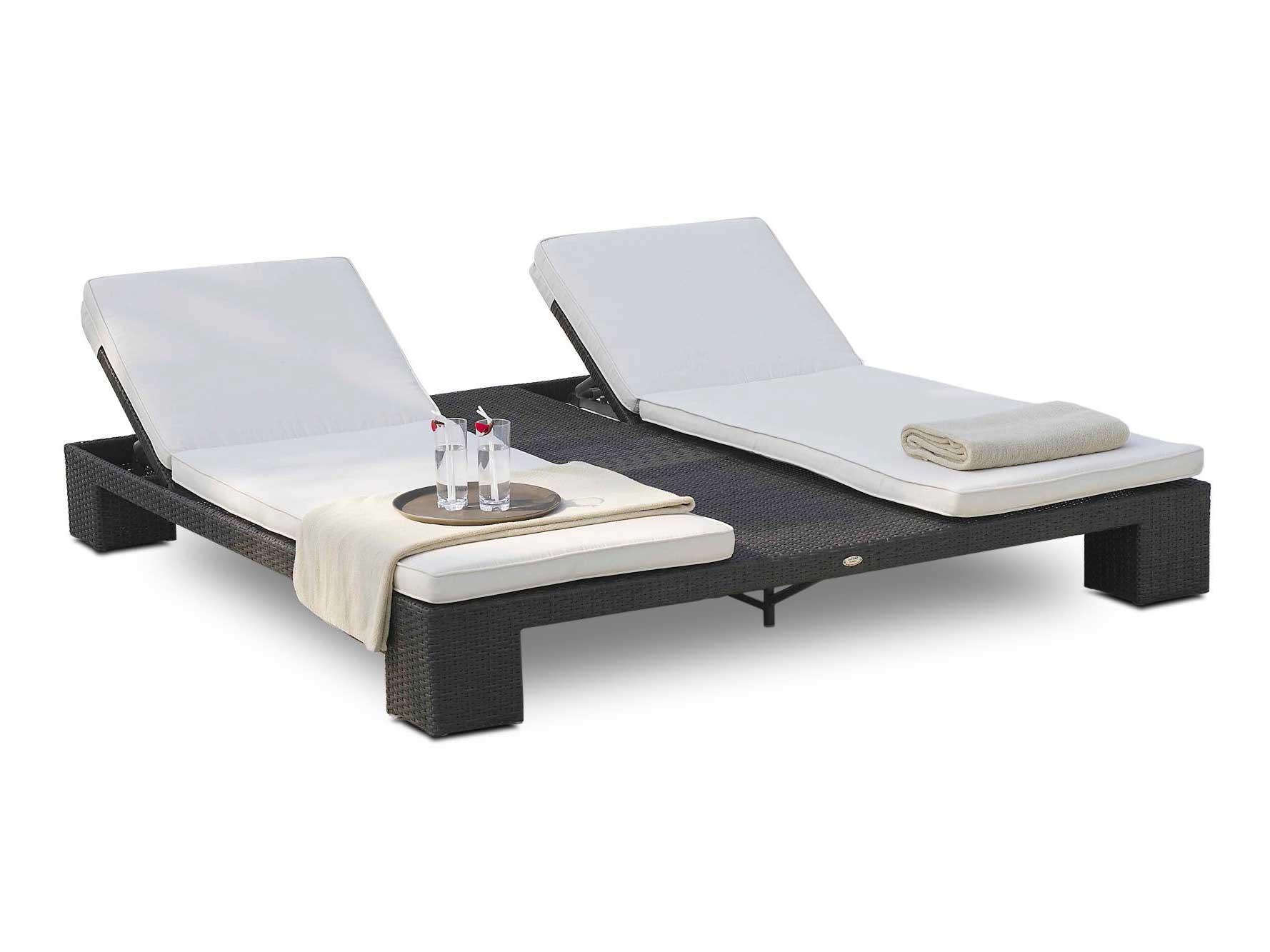 Double Bain De Soleil De Jardin Relaxation Sunny De Lusso