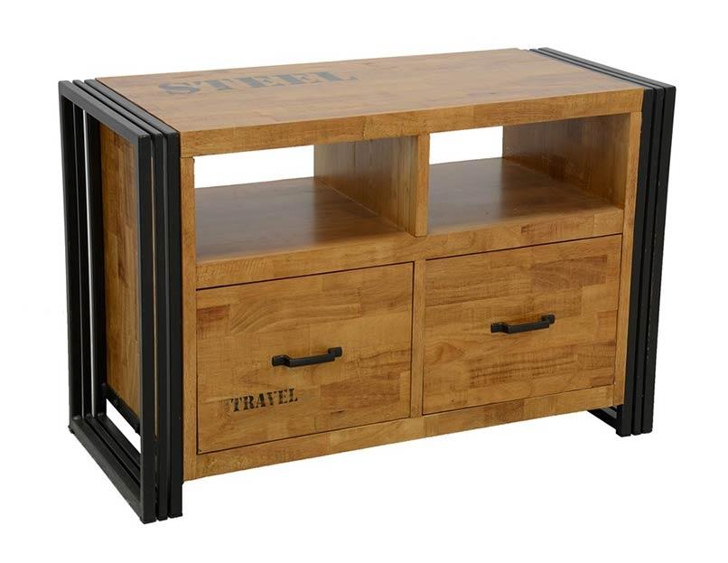 meuble tele style industriel indus