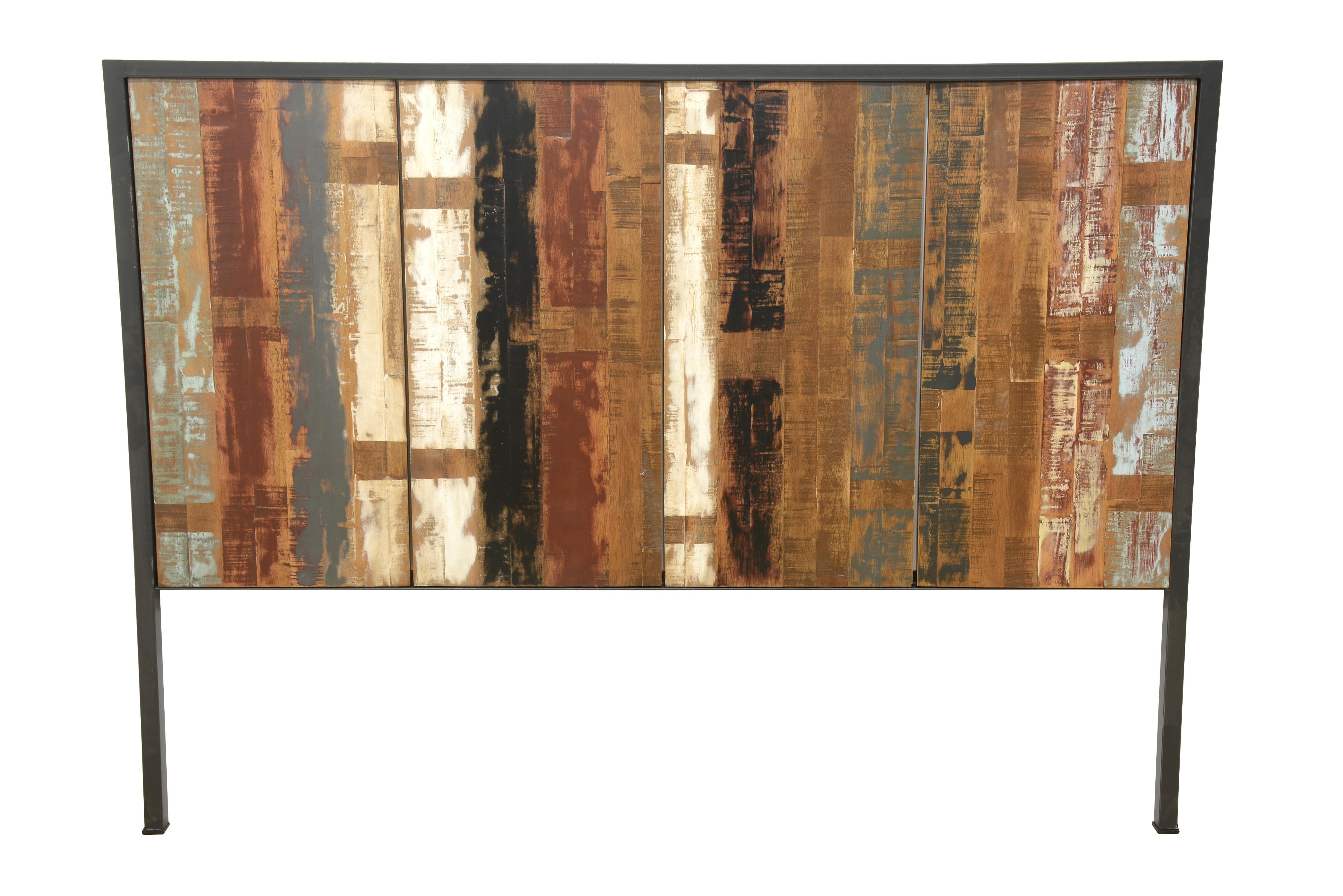 meuble cuisine bois recyclé