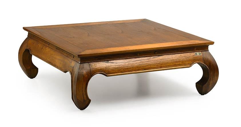 mawan table basse opium 100 100 cm image 1