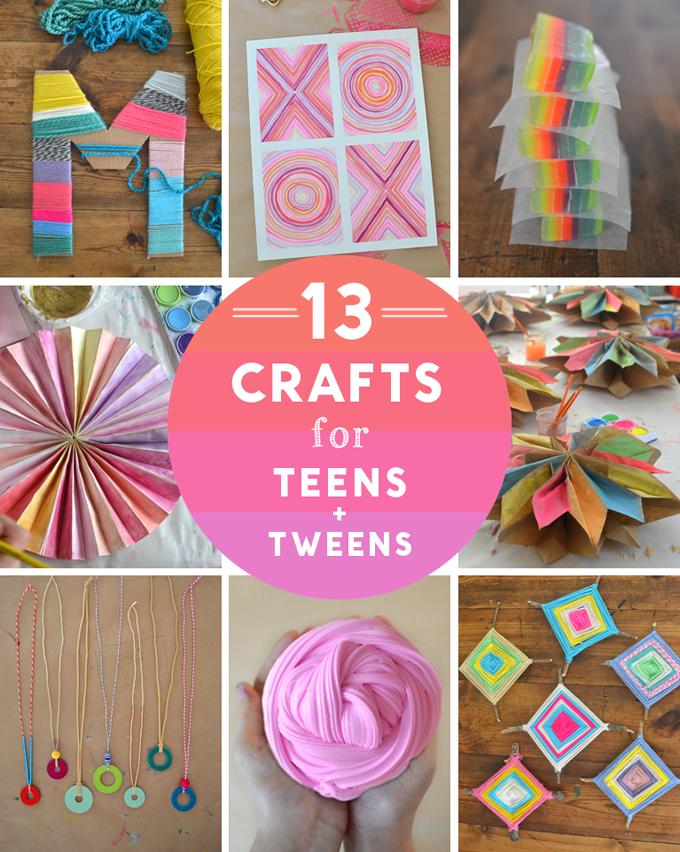 14 Crafts For Teens And Tweens Artbar