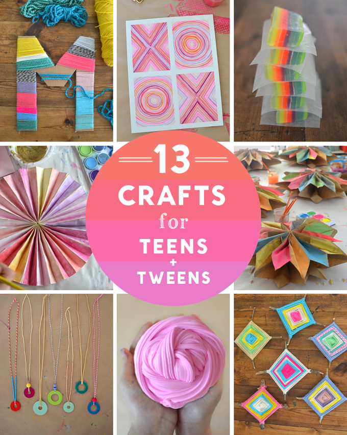 13 craft ideas for