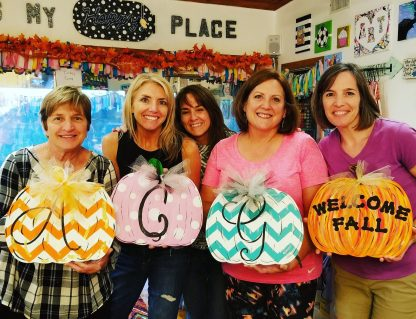 Wooden Sign Painting Party