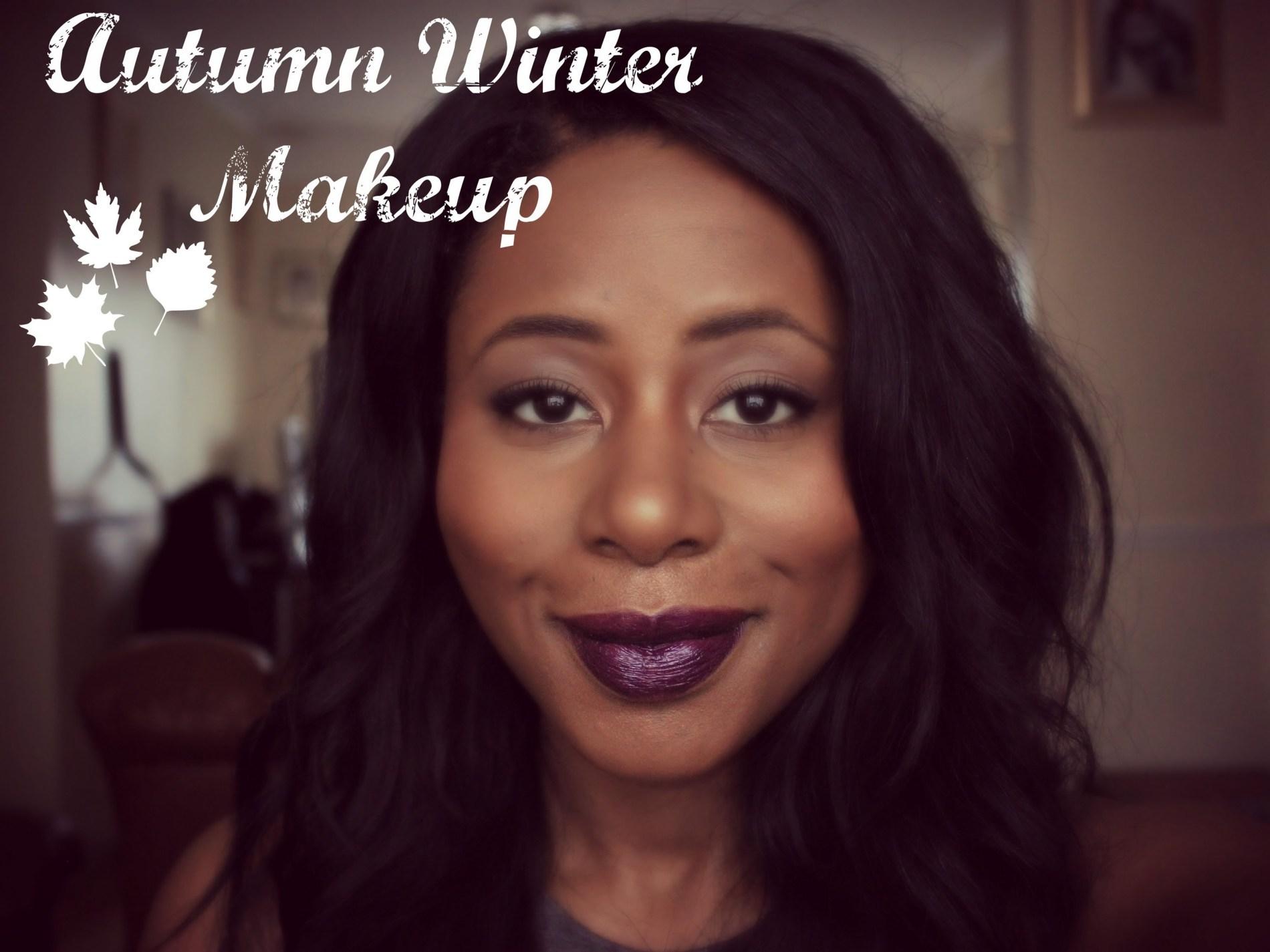 winter makeup for dark skin