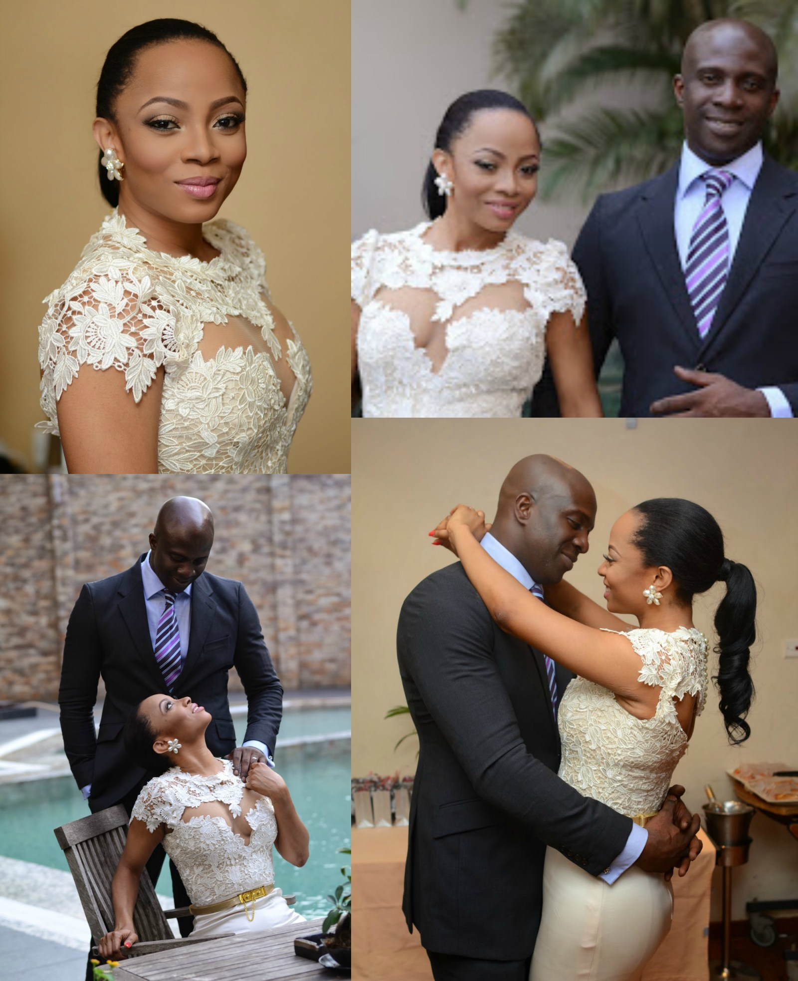toke makinwa's wedding photos
