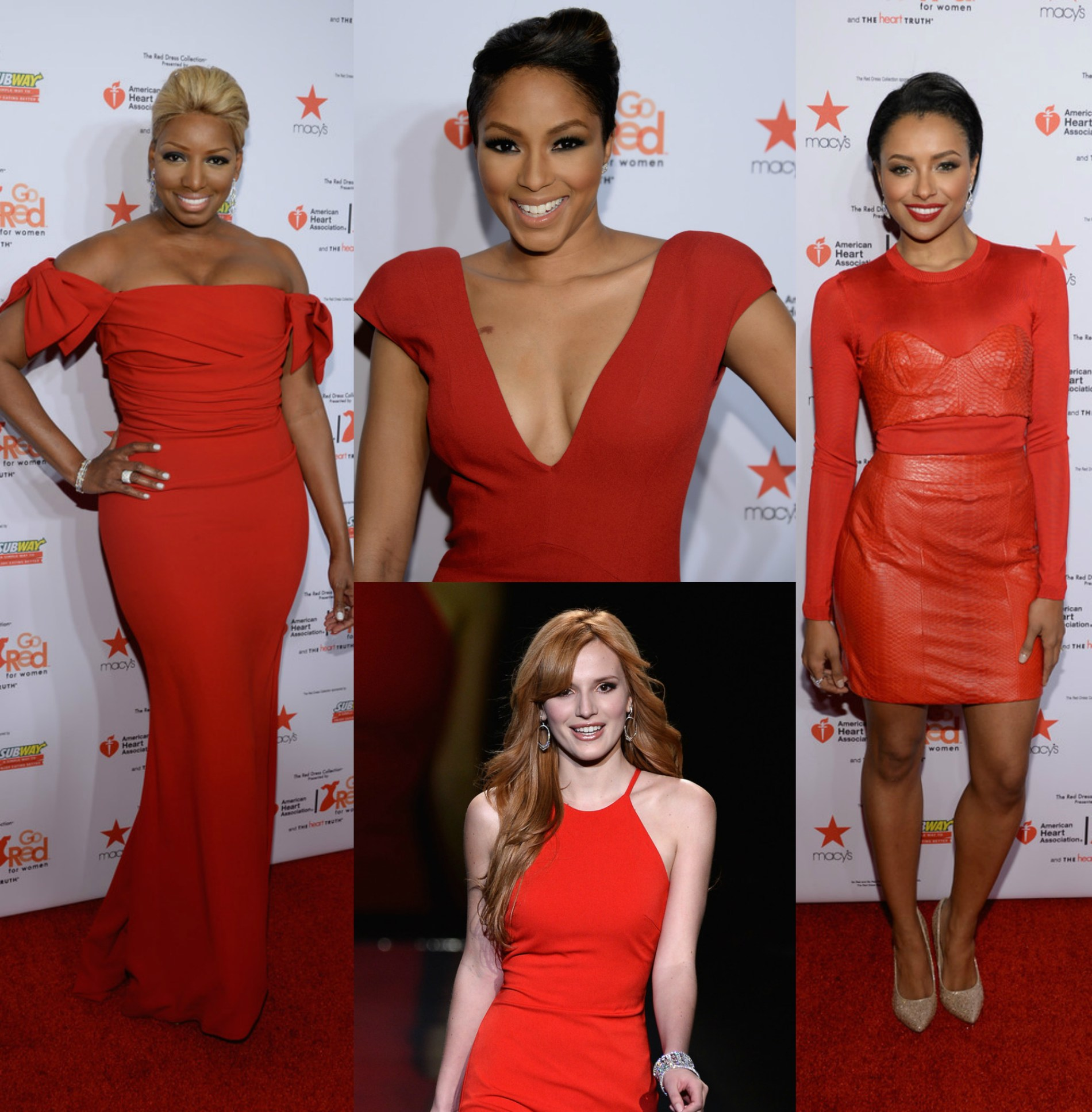 Go RED For The Heart Truth Red Dress Collection 2014 Show