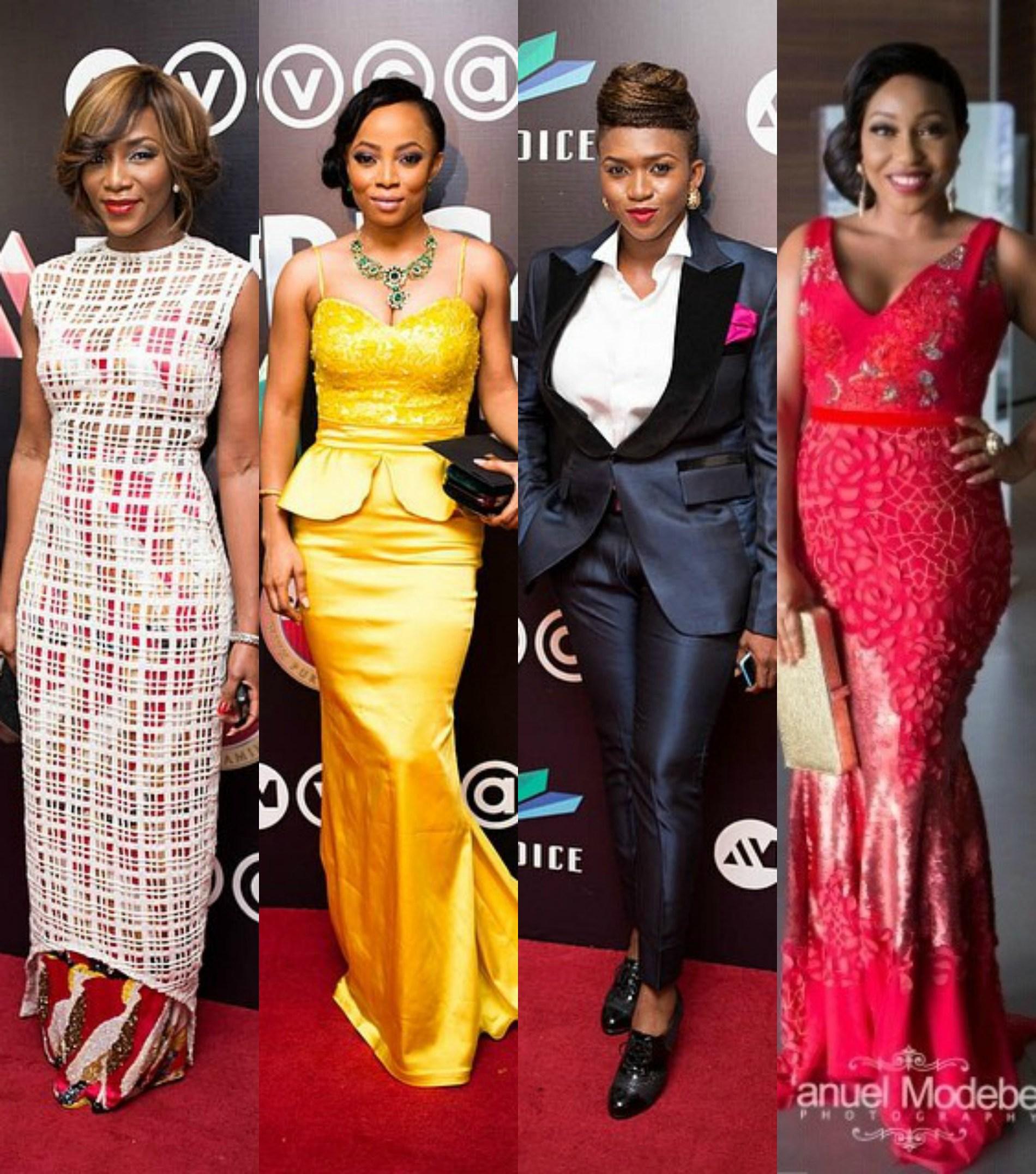 Divas at the 2014 Africa Magic Viewers' Choice Awards