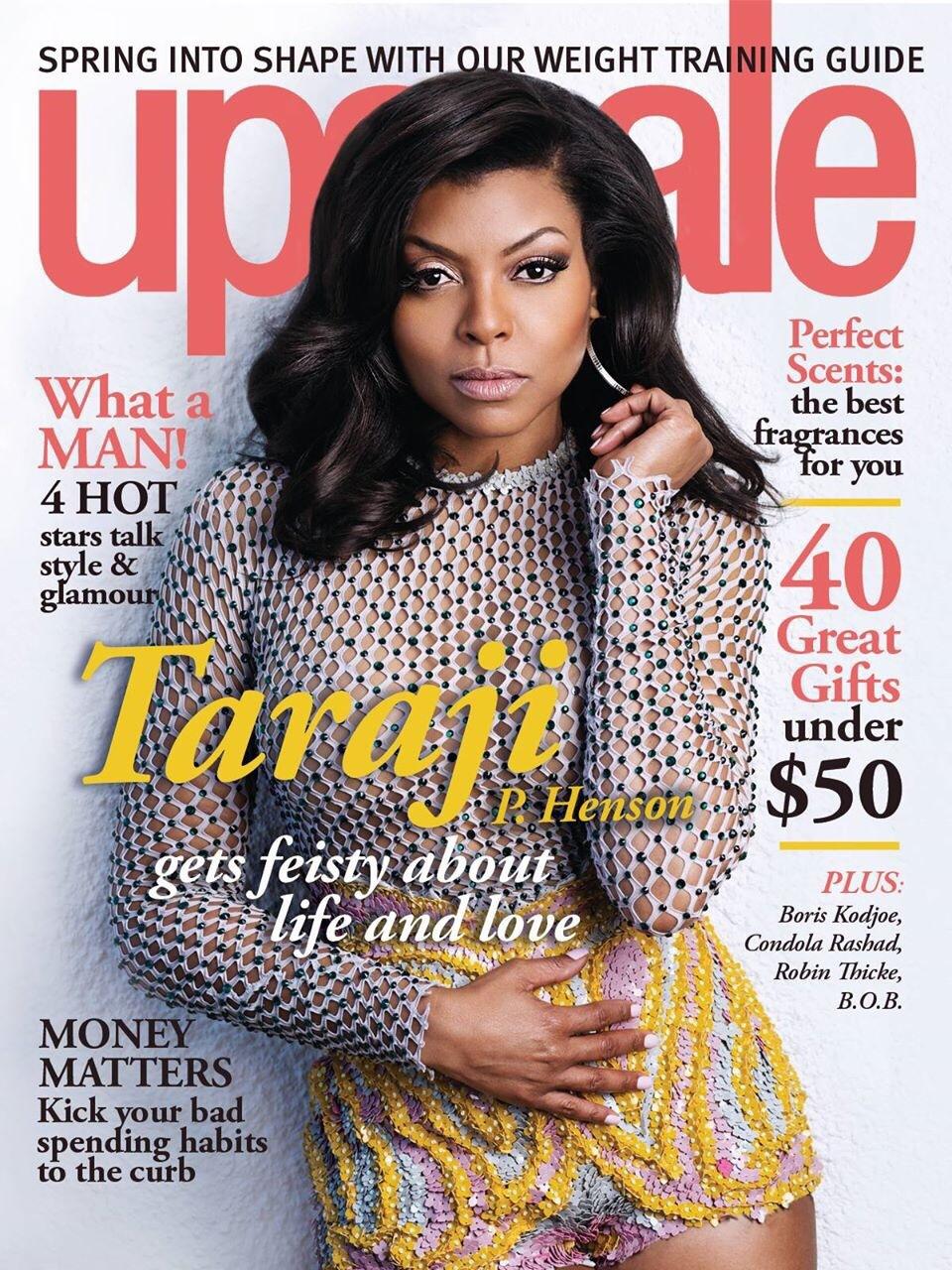 taraji p henson upscale magazine 2014
