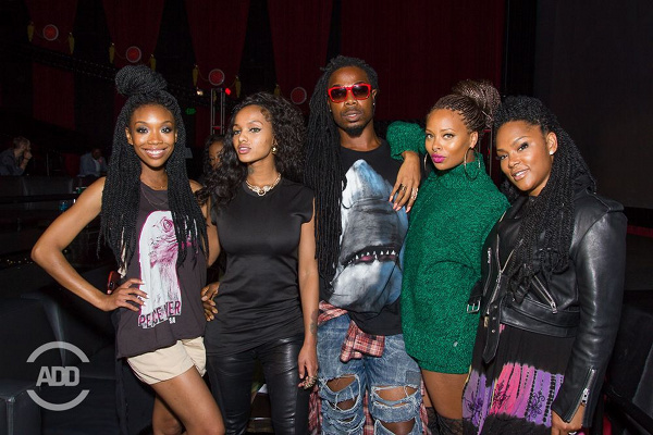 Brandy, Eva Marcille, Angela Simmons, Karrueche and More Look Cute As They Laugh Away At Russell Simmons' Comedy Show In Hollywood