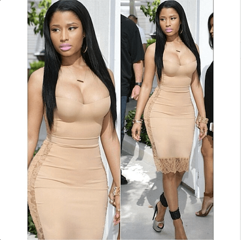 -nicki-minaj-in-la-perla-dress