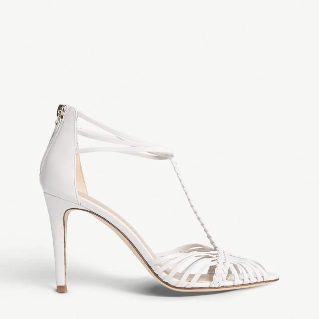 L.K.Bennett x Jenny Packham Dorothy leather sandals, £139