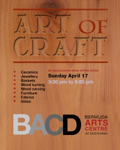 art of craft 2016 invite with date
