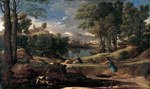 landscape with man killed