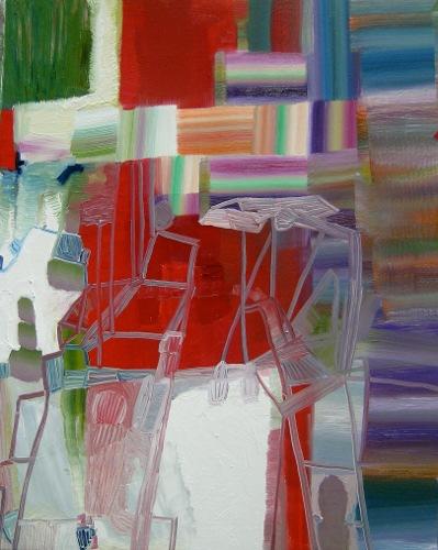 [Image: Josette Urso, Coyote, 2012, oil on panel, 20 x 16 inches]