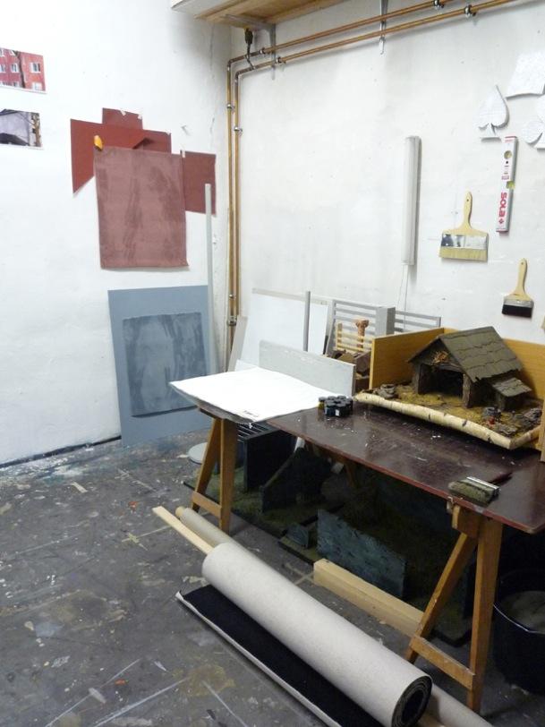 Atelier Tobias Hantmann (Foto: Arne Reimann)