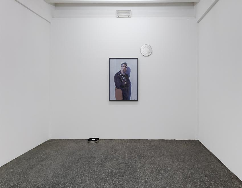 Installationsansicht Pietro Roccasalva F.E.S.T.A., Kölnischer Kunstverein, 2014. Foto: Simon Vogel