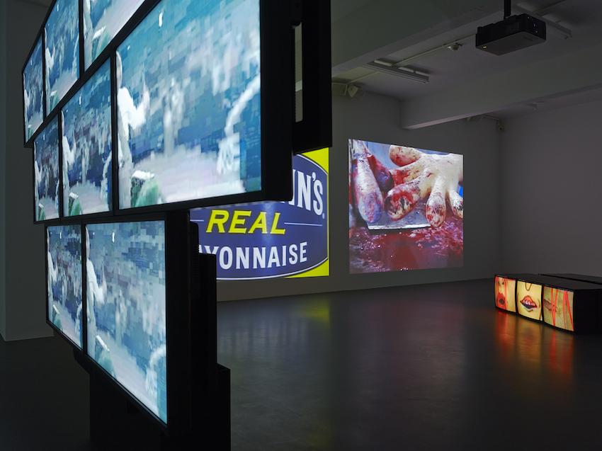 Blick in die Ausstellung / installation view NUMBER EIGHT: STURTEVANT Foto /photo: Simon Vogel