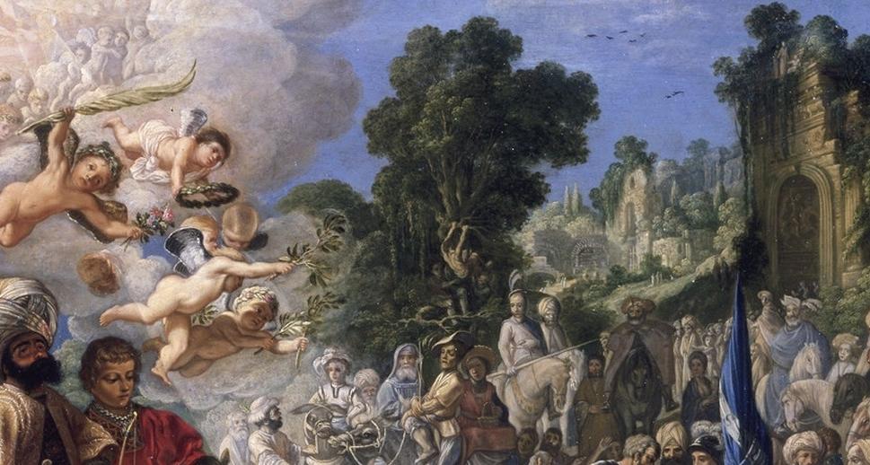 Elsheimer, Adam, Steinigung des heiligen Stephanus, versilbert, Öl & Kupfer (Foto: © Rheinisches Bildarchiv Köln, rba_c003503)