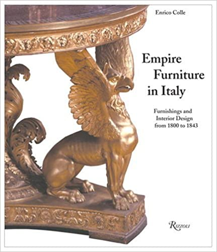 Empire Furniture in Italy (Enrico Colle)