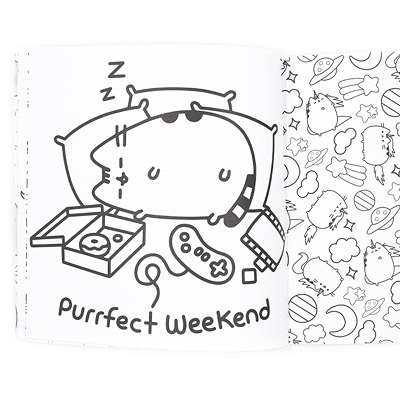 Buy Pusheen the Cat Official Colouring Book at ARTBOX