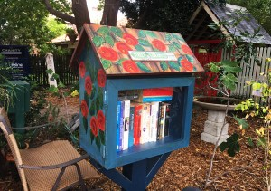Street Library painted by Art Box Workshops