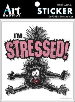 I'M STRESSED STICKERS