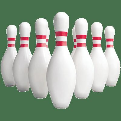 3d bowling pins