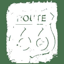 TEMP-ROUTE 66 BULLET HOLES