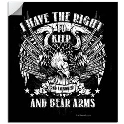 KEEP AND BEAR ARMS STICKERS