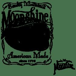SMOKY MOUNTAIN MOONSHINE BLACK