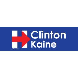 CLINTON KAINE STICKERS