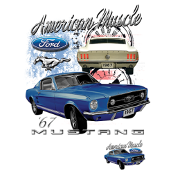 AMERICAN MUSCLE MUSTANG