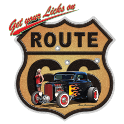 LICKS ON ROUTE 66