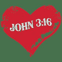 JOHN 3:16 HEART