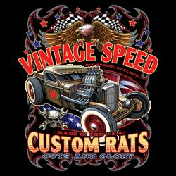 VINTAGE SPEED CUSTOM RATS