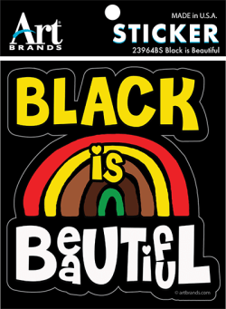 BLACK IS BEAUTIFUL STICKERS