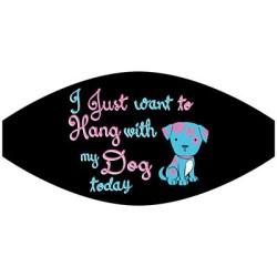 HANG WITH DOG MASK TRANSFERS