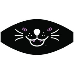 CAT FACE MASK TRANSFERS