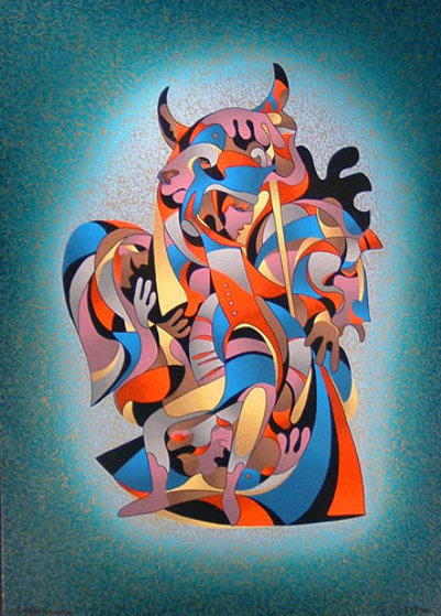 Toreador by Anatole Krasnyansky