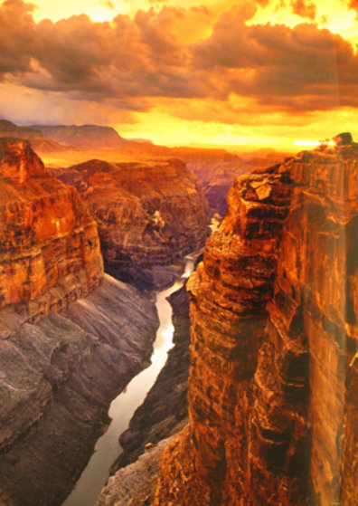 Heaven on Earth Grand Canyon NP Arizona by Peter Lik