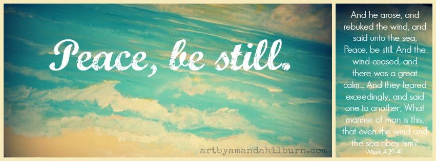 Peace be still 1