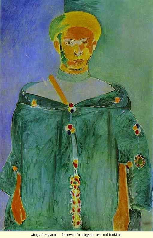 Henri Matisse. The Moroccan in Green. 1912-13