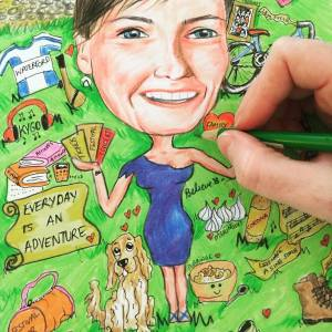 Illustrations and Caricatures