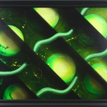 Spherether 24″x 18″ Acrylic on Stretched Canvas