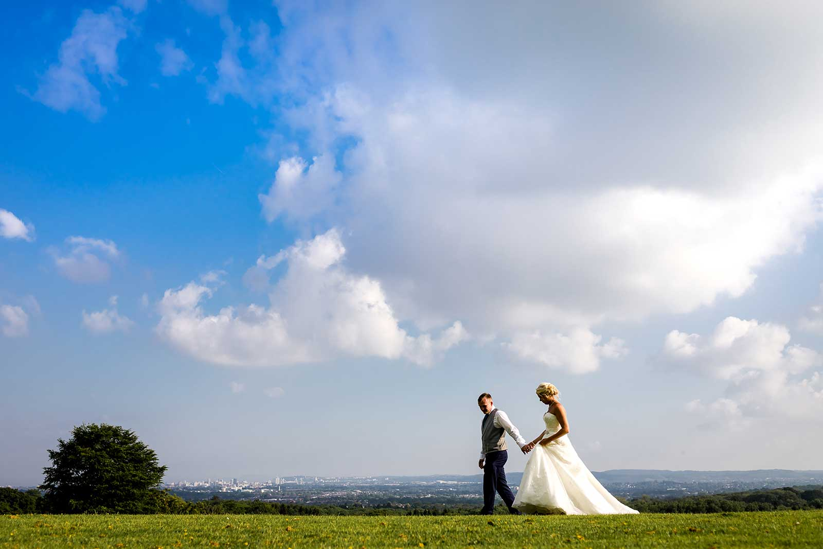 Natural wedding photography New House Hotel