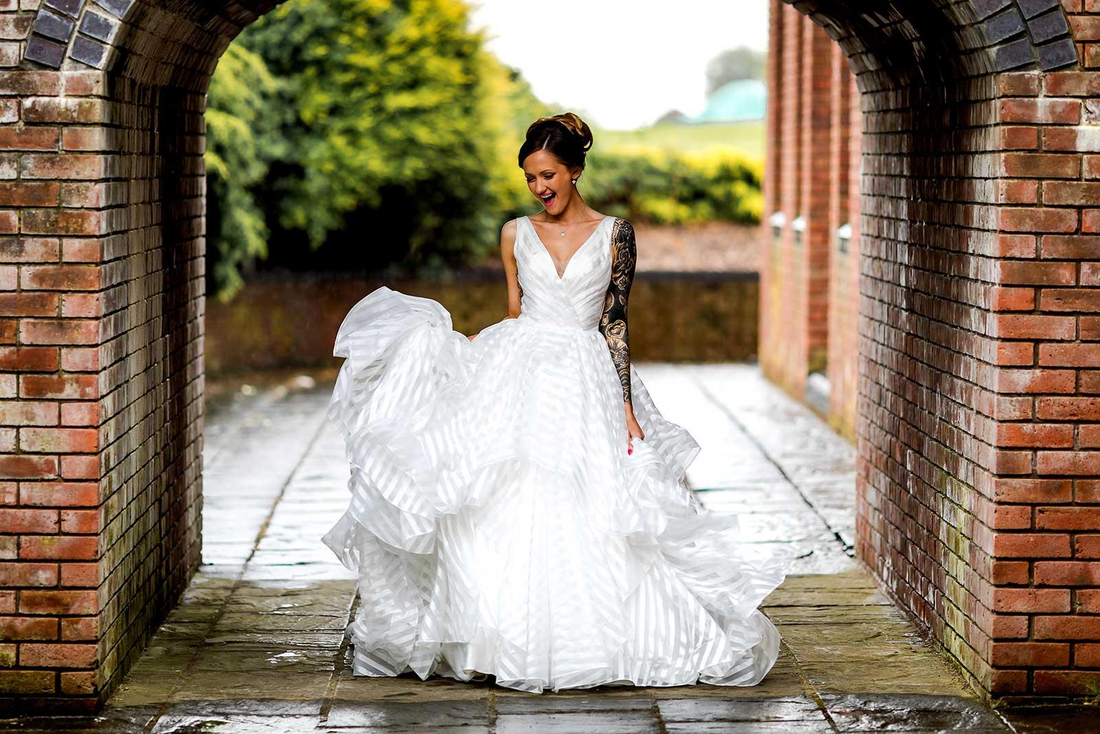 Bridal photography Cardiff