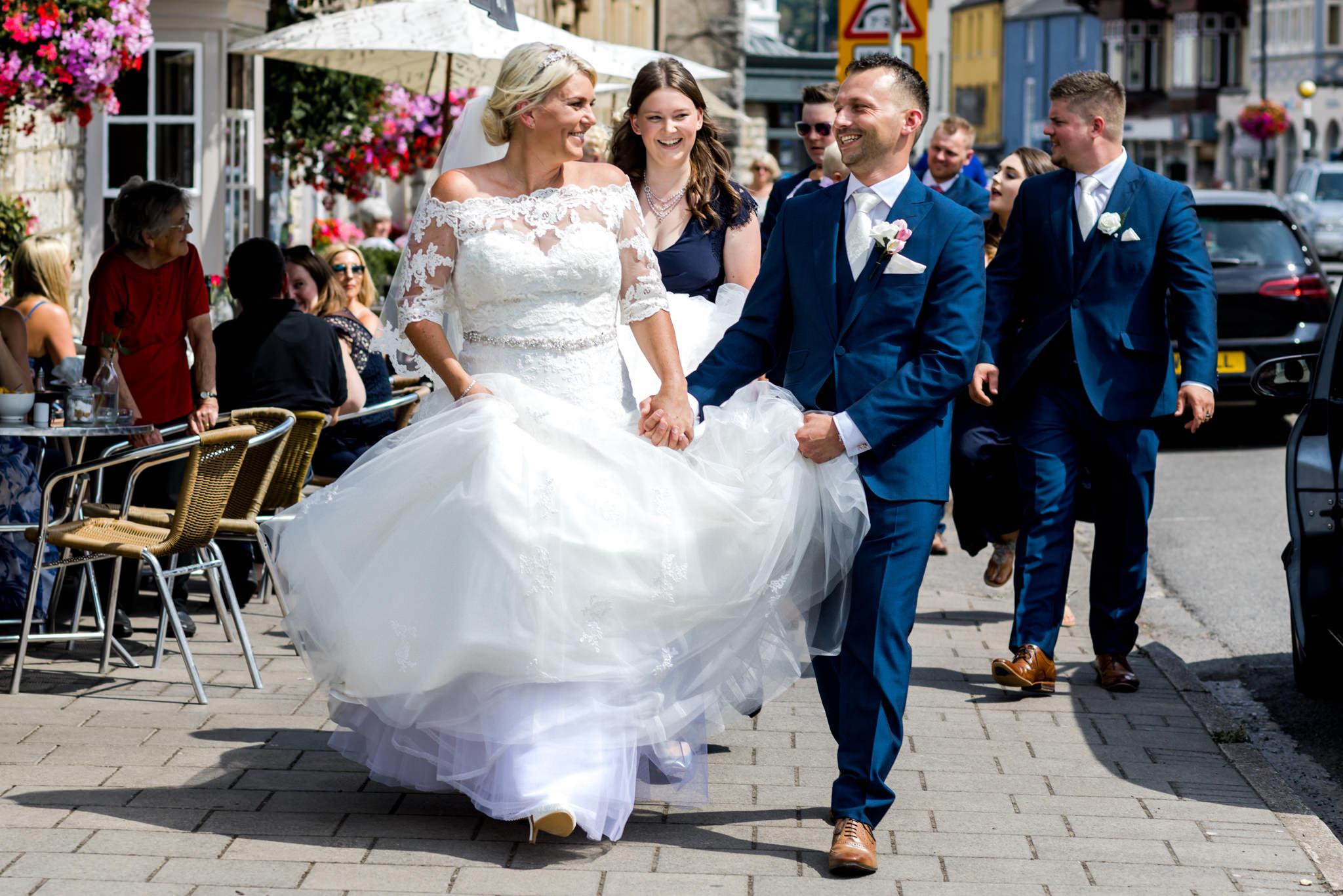 The bear hotel wedding photography