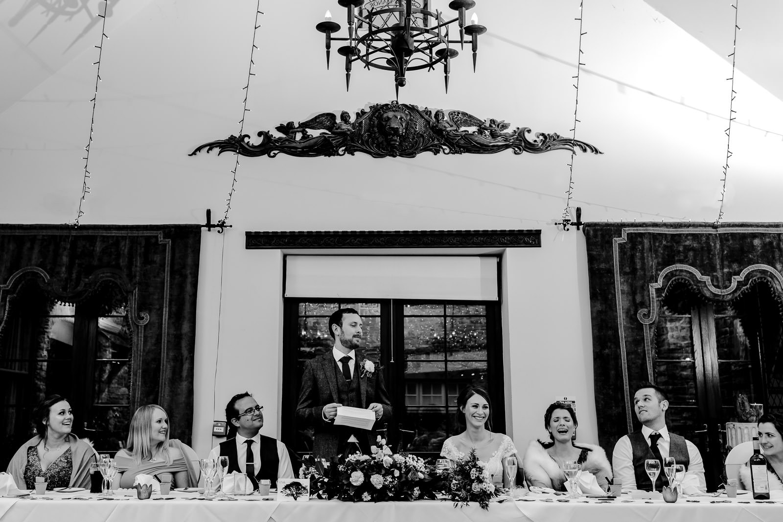 Miskin Manor Wedding Photography - Art by Design Photography - Speeches